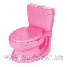 Горшок обучающий DOLU (7252) розовый
