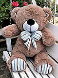 Гарний плюшевий ведмедик Білий 100 див., фото 3