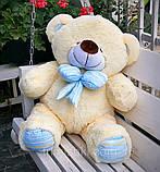 Гарний плюшевий ведмедик Білий 100 див., фото 5