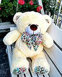 Гарний плюшевий ведмедик Білий 100 див., фото 6