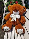 Гарний плюшевий ведмедик Білий 100 див., фото 7