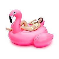 Надувной матрас Фламинго Pink 190см