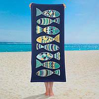 Полотенце Fish 150х70 см