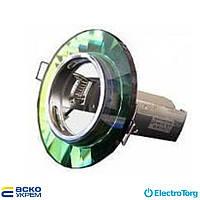 Светильник точечный (под рефлекторную лампу) R50 RG004 E14 CH+MIX (микс. стекло), Аско