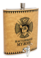 """Фляжка на 3500 мл """"Настоящий мужик"""" GT-05"""