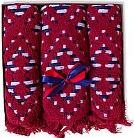 Подарунковий набір жакардових рушників Туреччина Cherry, фото 1