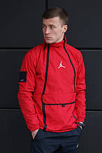 Ветровка Air Jordan (Красная)