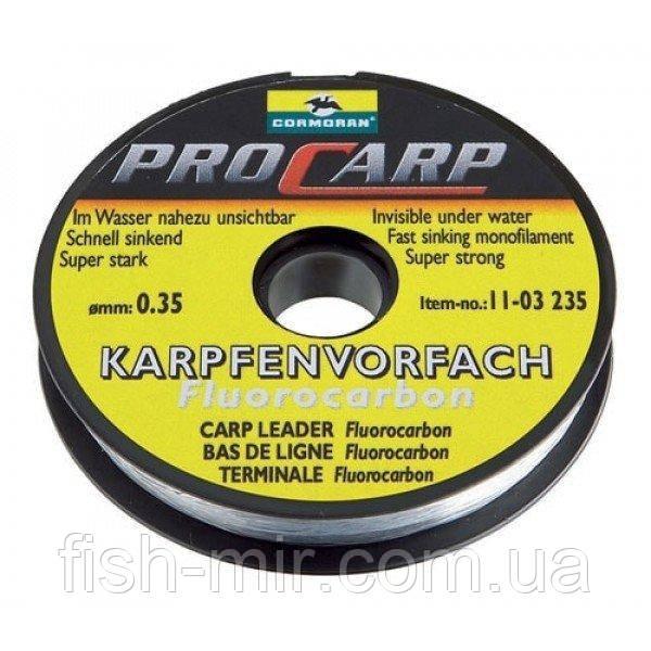 Pro-Carp 20m 0,45 mm 12,5 kg поводковый матеріал з флуорокарбона Cormoran