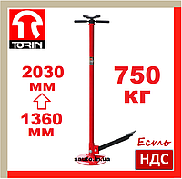 Torin TRF40753. 750 кг. 1360-2030 мм. Стойка механическая, трансмиссионная, для снятия кпп, сто