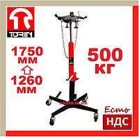 Torin TEL05001. 500 кг. Стойка гидравлическая, трансмиссионная, для снятия кпп, гидростойка, сто, автосервиса