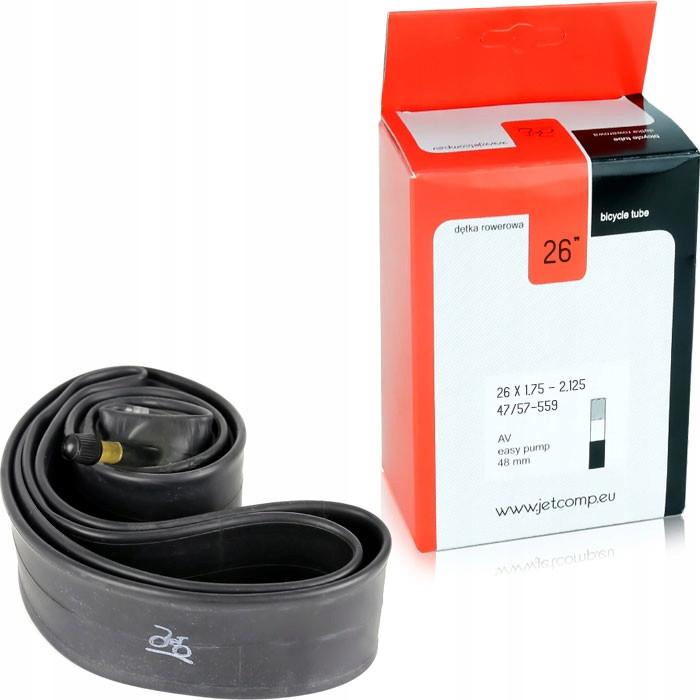 Велосипедна камера JET 26x1,75 AV 48mm D137