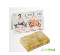 Природное крем-мыло ручной работы. Рецепты бабушки Агафьи RBA /9-62 N