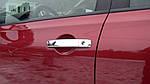 Nissan Navara 2006-2015 рр. Накладка на ручки (4 шт, нерж) Без чіпа, Carmos - Турецька сталь