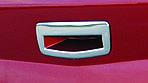 Renault Megane II 2004-2009 рр. Накладка на ручку багажника (SD, нерж)