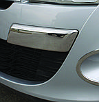 Renault Megane III 2009-2016 рр .. Кути на передній бампер (нерж)