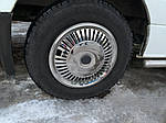 Volkswagen Crafter 2006-2017 рр. Ковпаки з нержавійки Зірка (1 катк., 4 шт)