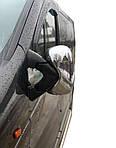 Renault Trafic 2001-2015 рр. Накладки на дзеркала (2 шт) OmsaLine - Італійська нержавійка