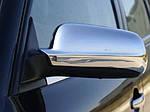Skoda Octavia I Tour A4 1996-2010 Накладки на дзеркала (2 шт., нерж) Несиметричні