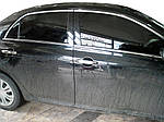 Toyota Corolla 2007-2013 рр. Верхня окантовка вікон (6 шт, нерж)