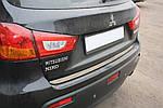 Mitsubishi ASX 2010↗/2016↗ рр. Кромка багажника (нерж.)