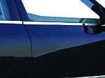 Volkswagen Passat B5 1997-2005 рр. Зовнішня окантовка вікон (4 шт, нерж) OmsaLine - Італійська нержавійка