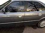 BMW 5 серія E-34 1988-1995 рр. Накладки на ручки (4 шт) Полірована нержавіюча сталь (передні ручки)