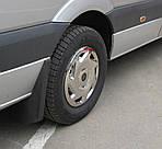 Volkswagen Crafter 2006-2017 рр. Ковпаки з нержавійки (1 катк., 4 шт)