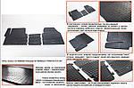 Renault Trafic 2001-2015 рр. Гумові килимки (3 шт, Stingray) 1-20212