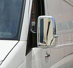 VW Crafter накладки на зеркала (пластик)