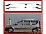 Dacia Logan MCV 2008-2014 рр. Рейлінги Хром Пластикові ніжки