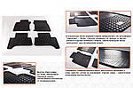 Lexus GX470 Гумові килимки (4 шт, Stingray Premium)