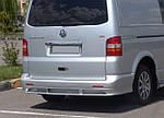 Volkswagen T5 Multivan 2003-2010 рр. Накладка на задній бампер ABT (під фарбування)