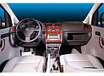 Volkswagen Caddy 2010-2015 рр. Накладки на панель Дерево