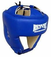 Шлем боксерский Reyvel кожа 1 ФБУ , L красный