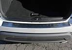 Fiat 500X Накладка на задній бампер OmsaLine (нерж)