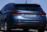 Hyundai I-40 Кромка багажника (SW, нерж.)