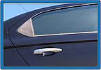 Citroen C-Elysee 2012↗ рр. Накладки на ручки (4 шт., нерж.) Carmos - Турецька сталь