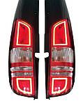 Эксклюзив! Задние фонари с LED габаритами для Mercedes Viano 2004-2015 гг.