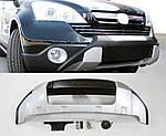 Honda CRV 2007-2010 Передняя накладка V2