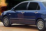 Mitsubishi Grandis 2005↗ рр. Накладки на ручки (4 шт., нерж.) Carmos - Турецька сталь