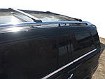 Mercedes GL X164 Перемычки багажник на рейлинги под ключ Серый