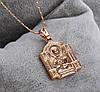Ладанка Божья Матерь, позолоченная, фото 2