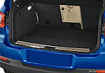 Volkswagen Tiguan 2007-2016 рр. Накладка на задній поріг OmsaLine (нерж) Глянсовий