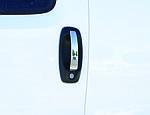 Накладки на ручки (4 шт, нерж) OmsaLine - Італійська нержавійка для Peugeot Bipper (2008↗)