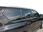 Toyota Prado 150 Рейлинги Lexus-дизайн (2 шт, серые)