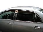 Toyota Corolla 2007-2013 рр. Накладки на стійки (нерж)