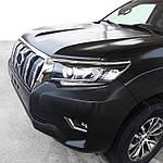 Toyota Prado 150 2018-2021 Реснички на фары (2 шт, для LED)