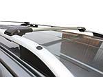 Volkswagen Sharan 2010-2021 Верхний багажник на рейлинги с замком Серый
