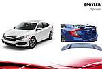 Honda Civic 2016-2021 Sedan Спойлер Niken V2 (под покраску)