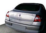 Renault Megane II 2004-2009 рр. Спойлер Sedan (під фарбування)